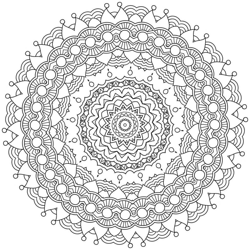 Coloring to Calm, Volume One – Mandalas