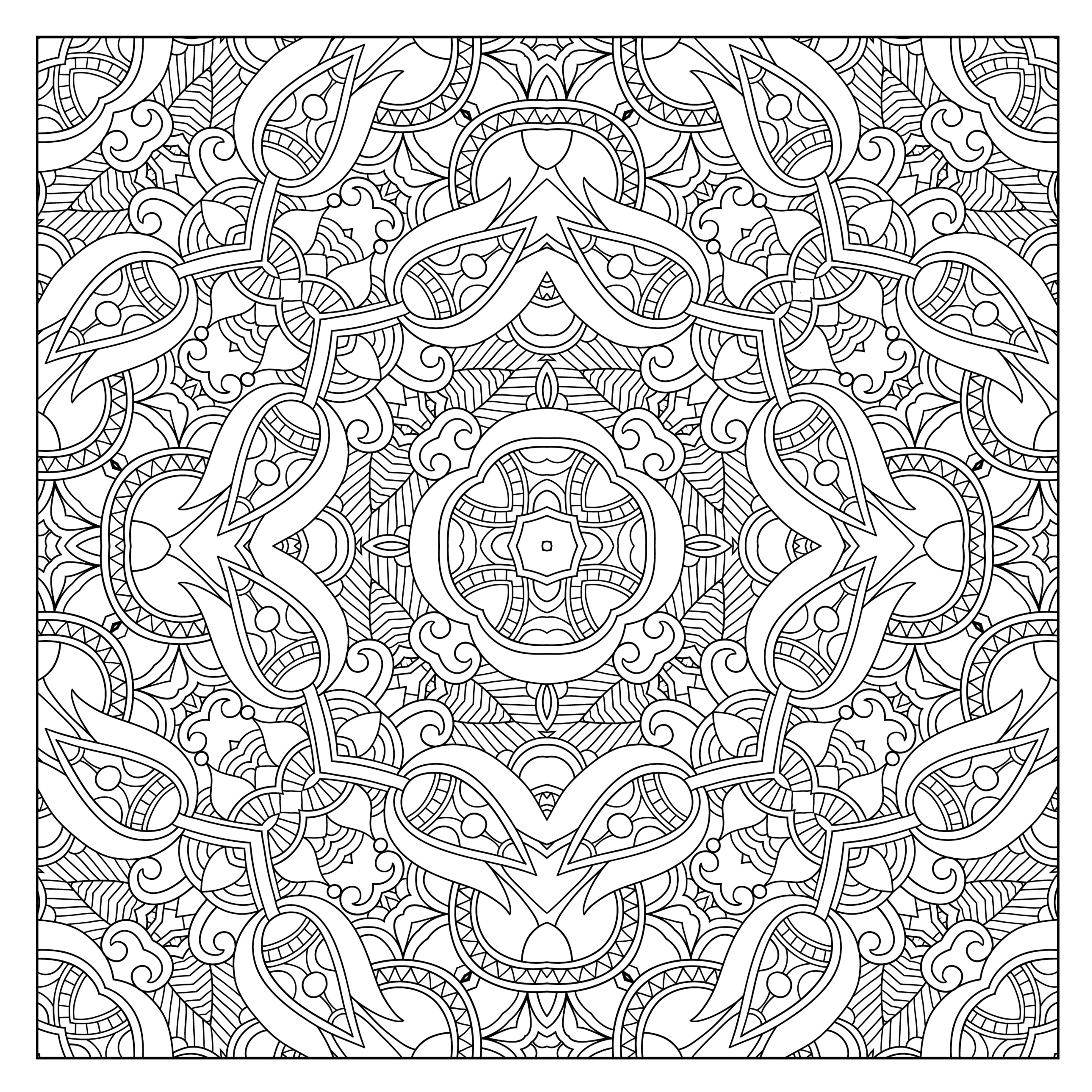 Coloring To Calm Volume Two Patterns