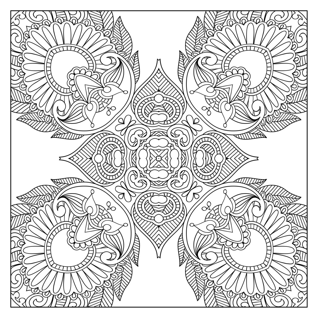 Coloring to Calm, Volume Two – Patterns