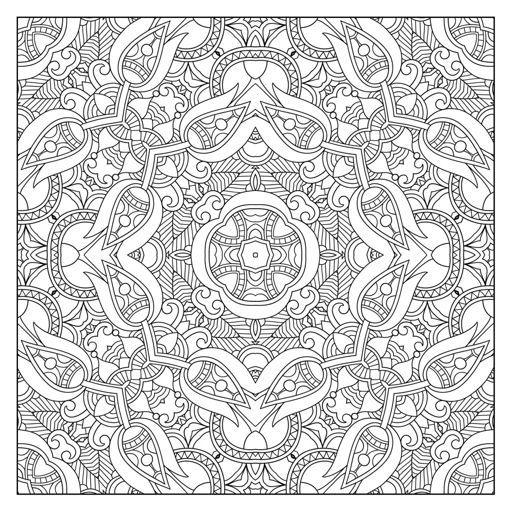 Coloring to Calm, Volume Two - Patterns