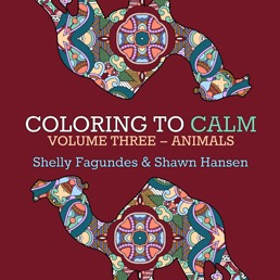 Coloring to Calm, Volume Three – Animals